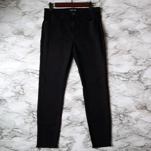 Kenneth Cole Jess Skinny Jeans Black High Waisted